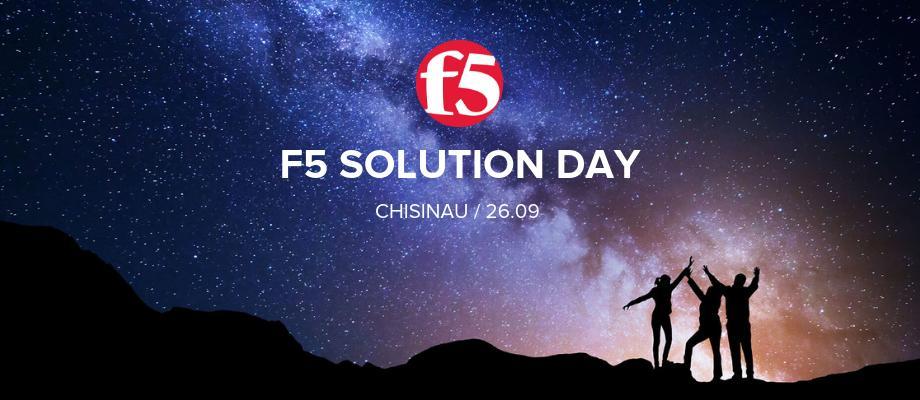 F5 Solution Day Chisinau. Все что нужно знать о конференции и как принять в ней участие