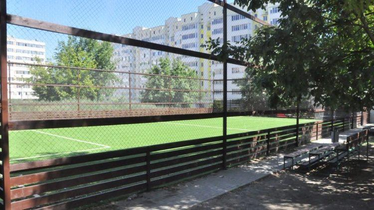 (фото) Еще 3 спортивных площадки обустроили в столичных секторах Рышкань и Чокана