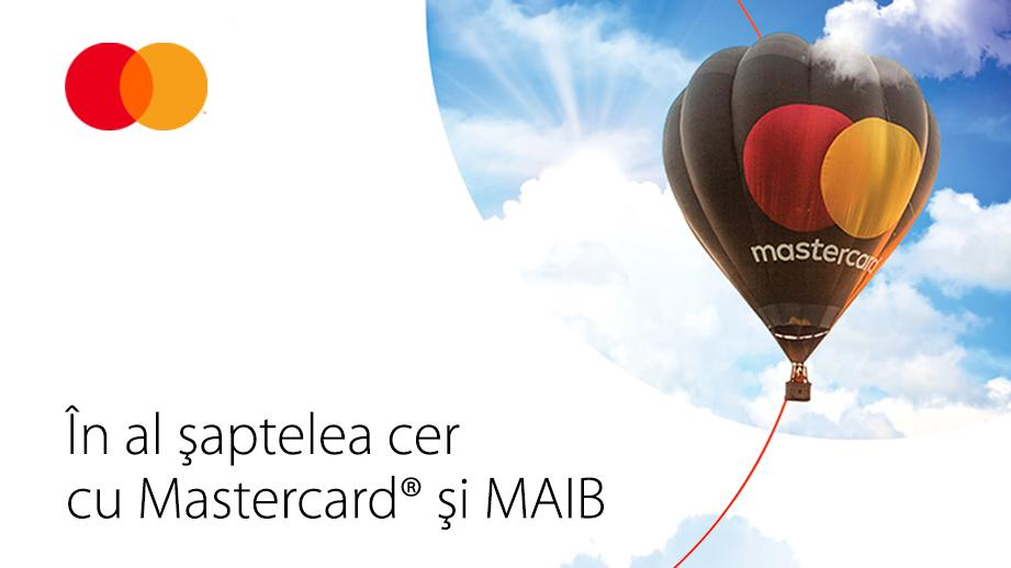 На седьмом небе вместе сMastercard и Moldova Agroindbank