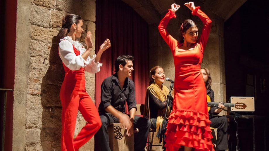 В эту среду учимся танцевать фламенко в сквере Национальной библиотеки