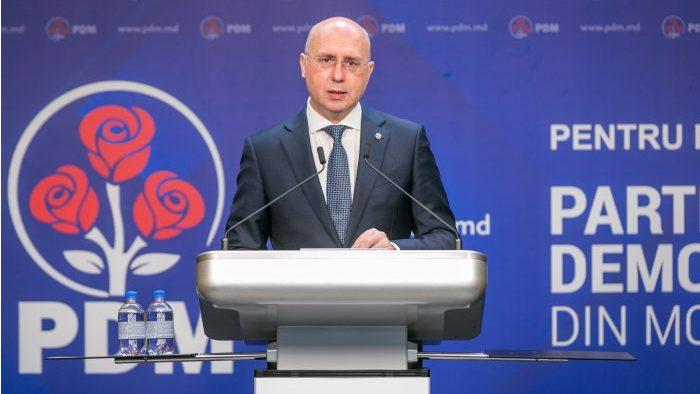 Павел Филип был избран председателем Демократической партии
