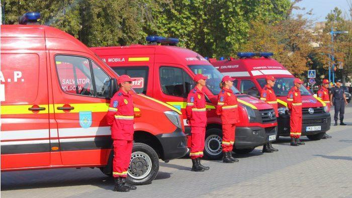 В Кагуле открыли мобильную службу скорой медицинской помощи по южному региону SMURD SUD