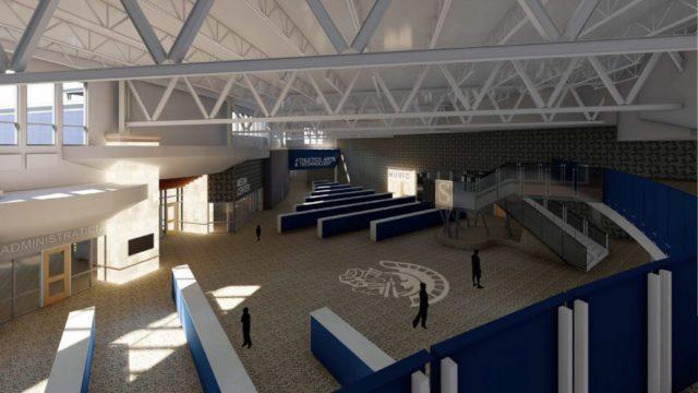 (фото) В Мичигане возводят здание школы, защищенное от массовой стрельбы