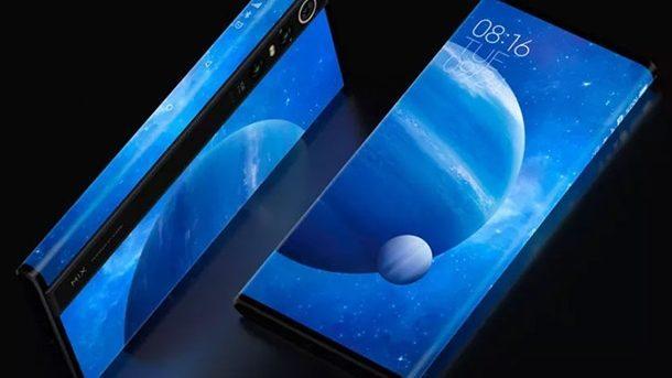 Представлен Xiaomi MiMix Alpha – первый в мире смартфон с экраном на 180% площади