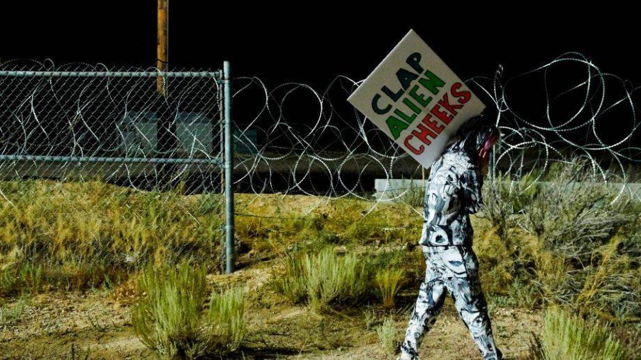 В США около 75 любителей НЛО пришли ко входу в секретную «Зону 51» в Неваде