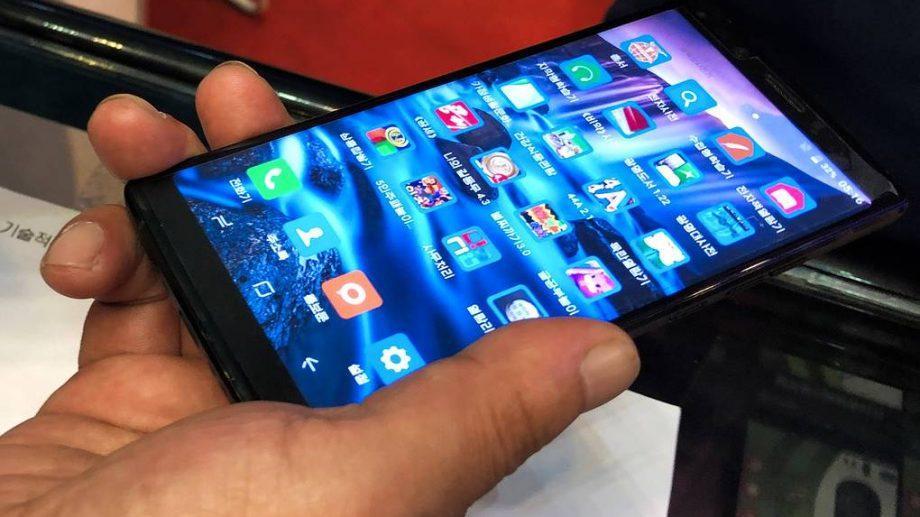 В КНДР представили смартфон, который могут приобрети только граждане этой страны