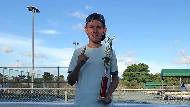Молодой теннисист из Молдовы выиграл турннир Cooper's Championships 2019