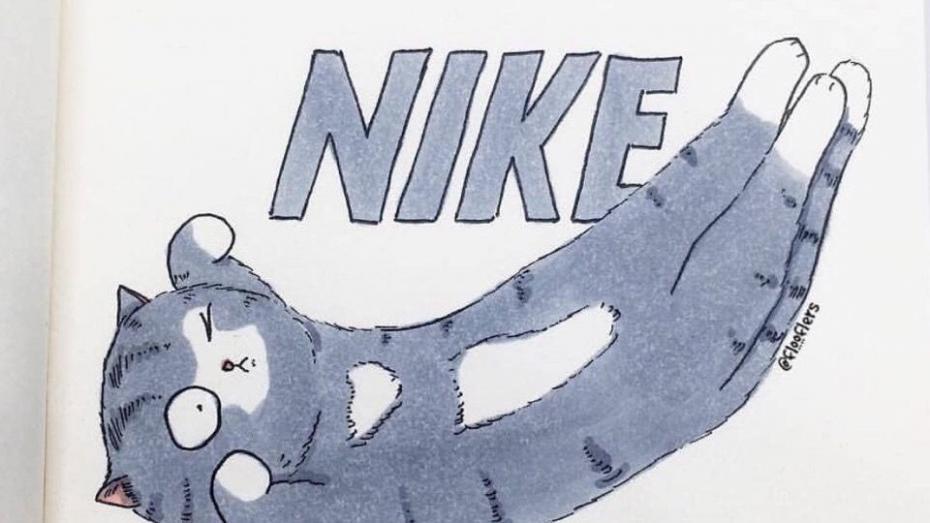 (фото) Что будет, если в известный логотип добавить котика