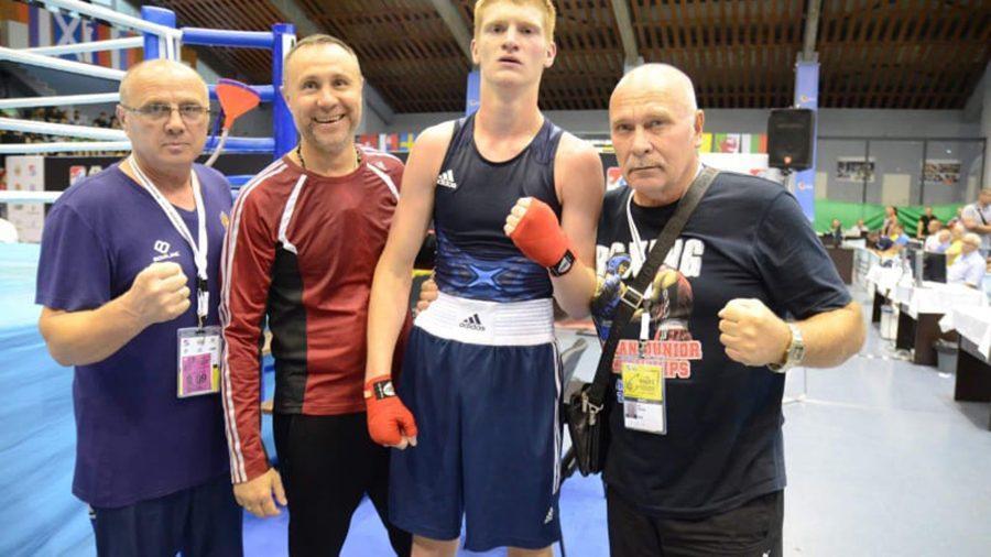 Молдавский боксер Владислав Гудзи завоевал серебряную медаль Чемпионата Европы среди юниоров