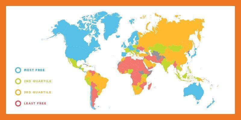 """Молдова опустилась с 95 на 97 место в рейтинге""""Экономическая свобода в мире – 2019"""""""