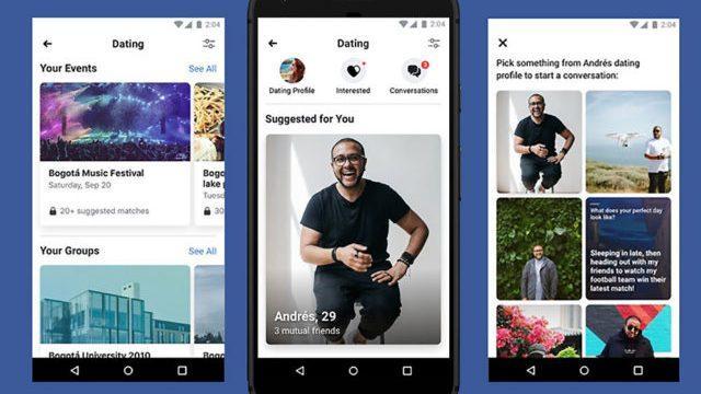 Facebook запустил сервис знакомств на основе общих интересов