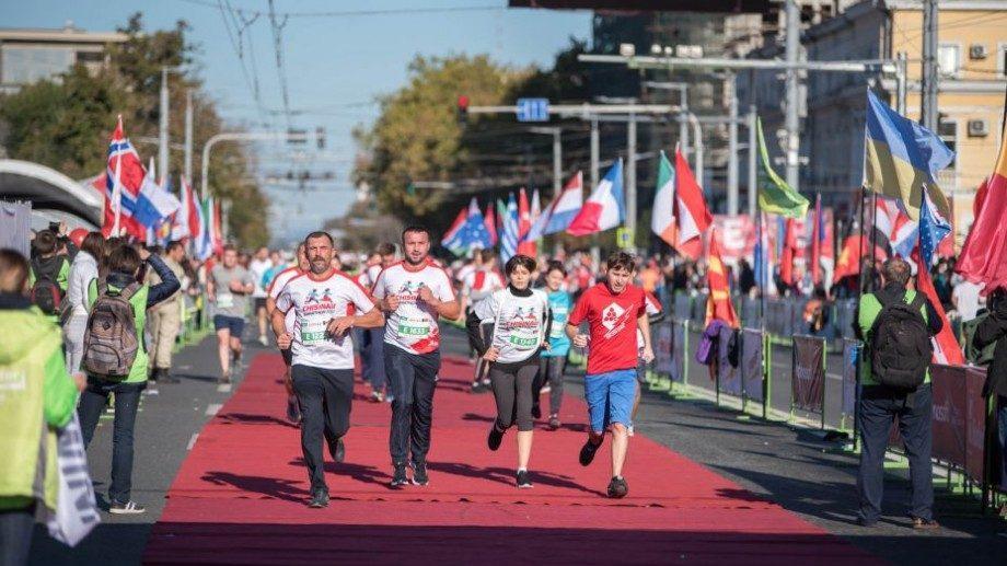 (карта) Какие улицы столицы будут перекрыты в воскресенье, 29 сентября, в день Кишиневского международного марафона