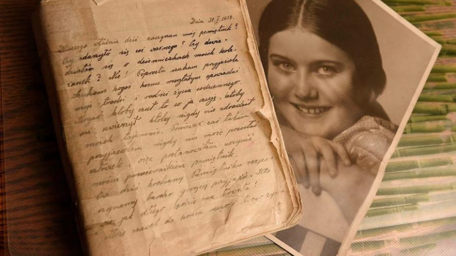 В сентябре опубликуют дневник «польской Анны Франк» Рении Шпигель. Он 70 лет лежал в банковском хранилище