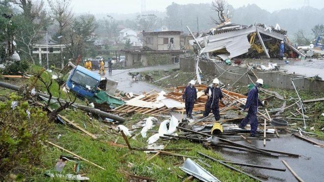 Тайфун «Хагибис» движется к Токио: 2 погибших и около 70 пострадавших