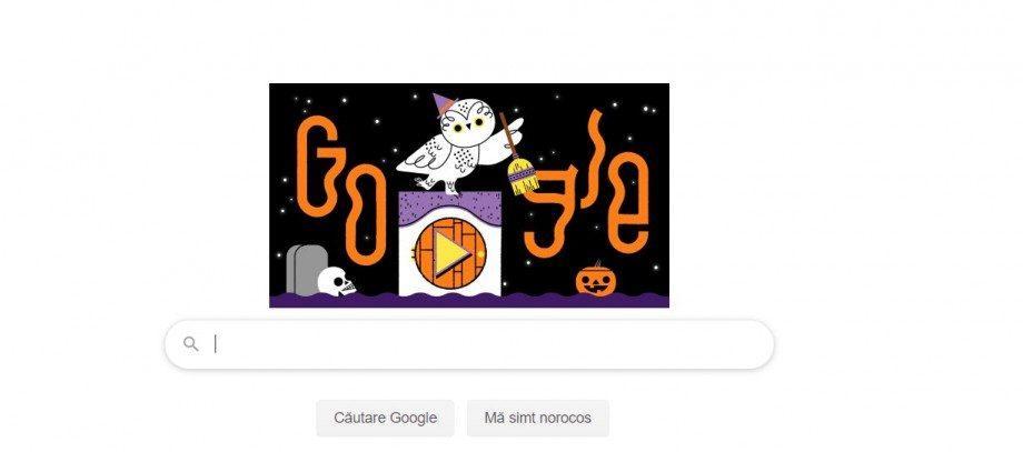 (фото) «Шалость или сладость»: Google создал оригинальный doodle ко Дню Всех Святых
