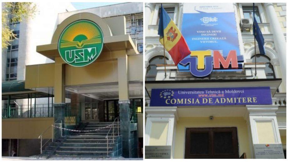 Два молдавских университета попали в рейтинг лучших вузов стран Европы и Центральной Азии