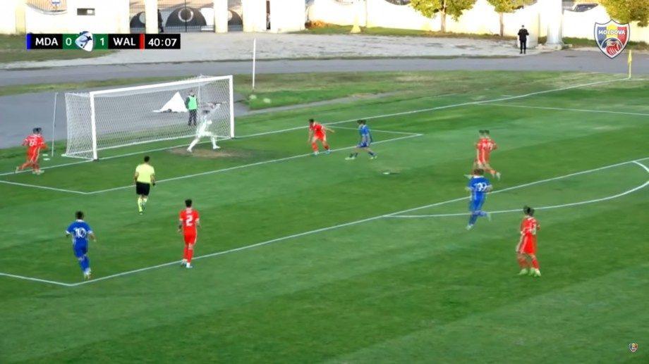 (видео) Победа Молдавской национальной молодежной сборной по футболу над командой Уэльса