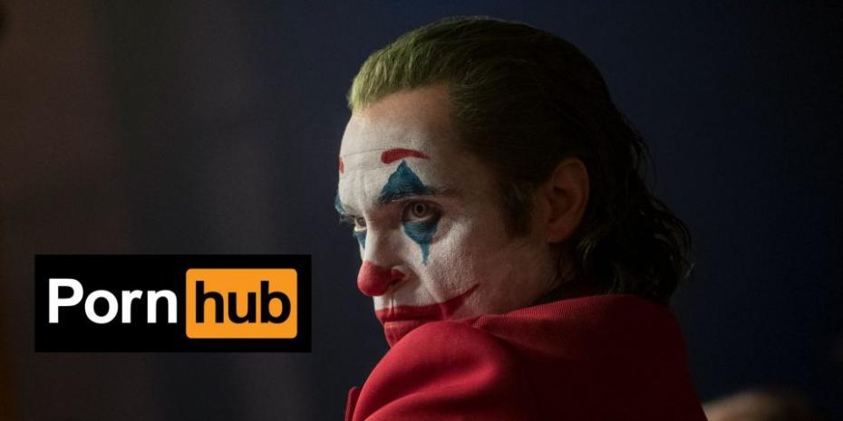 На Pornhub массово ищут ролики с Джокером