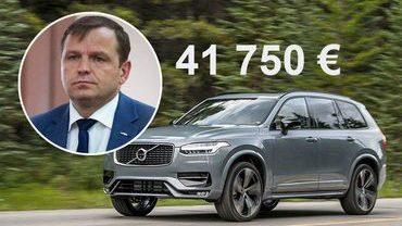 Кандидат в мэры Андрей Нэстасе приобрел новую машину за 41 750 евро