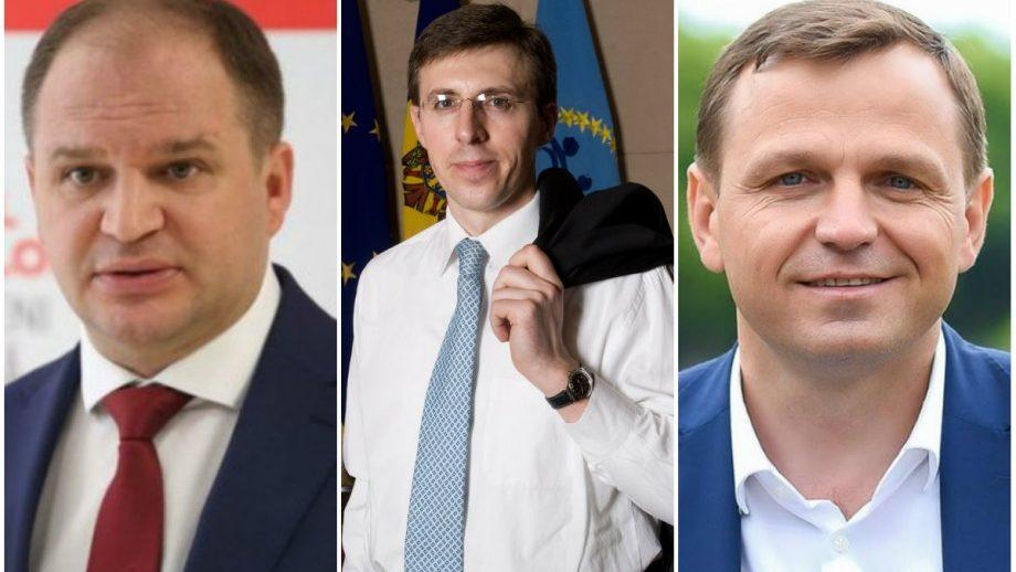 (график) Предварительные результаты в Кишиневе: Чебан, Нэстасе и Киртоакэ среди лидеров
