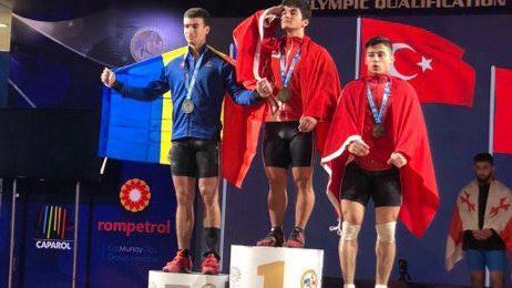 Тяжелоатлет Марин Робу стал европейским вице-чемпионом среди юниоров