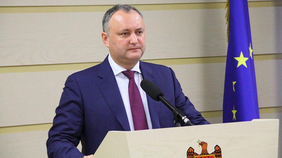 (видео) Реакция Додона на отставку Правительства. Завтра президент встретится с депутатами всех партий