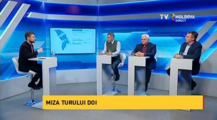 Потасовка между Октавианом Цику и Дорином Киртоакэ после эфира на TVR
