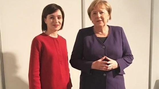 Майя Санду вновь встретилась с Ангелой Меркель. О чем они говорили
