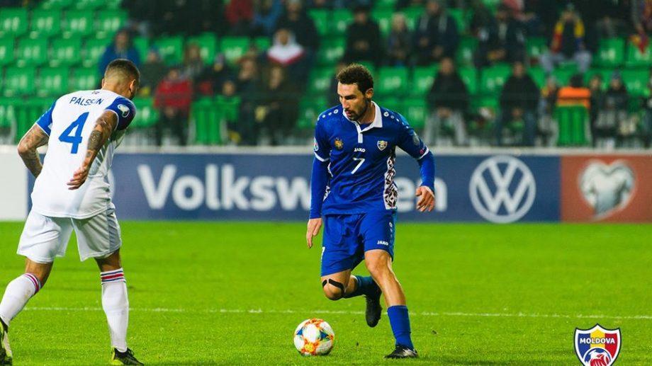 Артур Ионицэ во второй раз стал лучшим молдавским футболистом