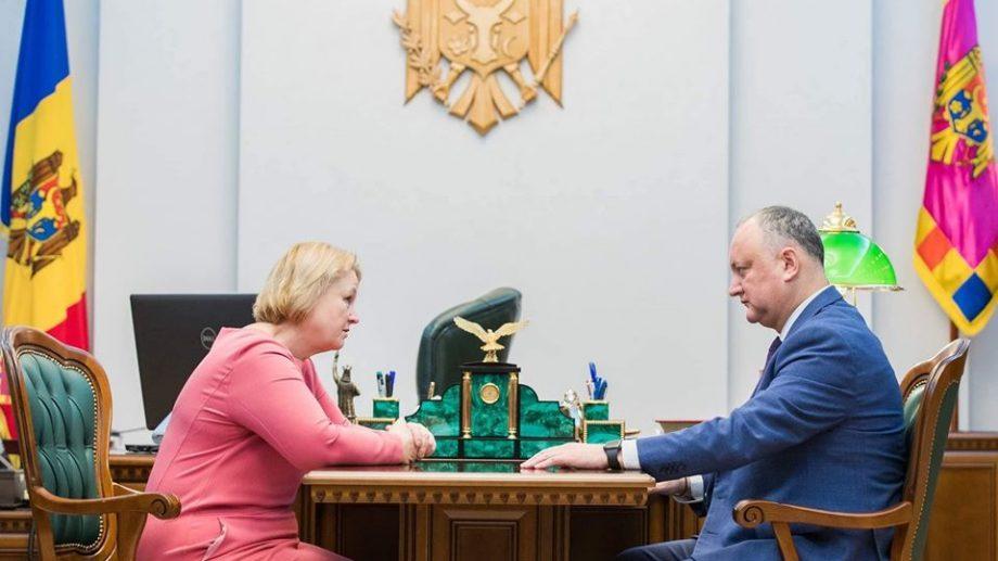 Галина Балмош, бывший депутат ДПМ и ПСРМ, стала новым советником президента по социальным вопросам