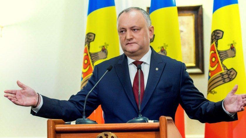 В сети набирает популярность петиция об отставке Игоря Додона, которая была создала ЛП еще в 2017 году