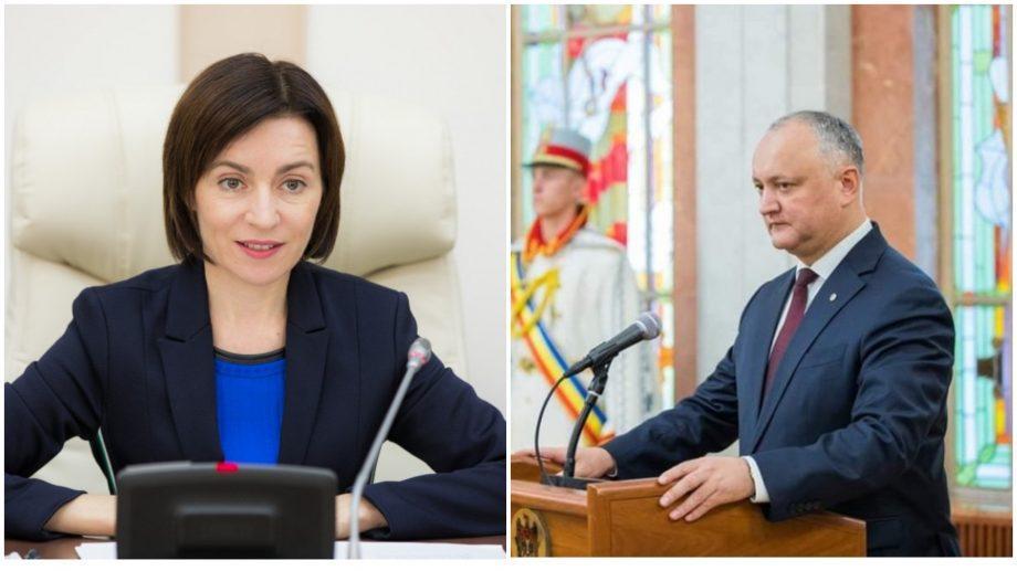Как Игорь Додон и Майя Санду прокомментировали результаты второго тура выборов в столице