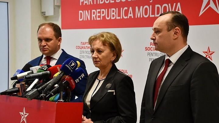 (видео) ПСРМ просит отставку министра юстиции Олеси Стамате