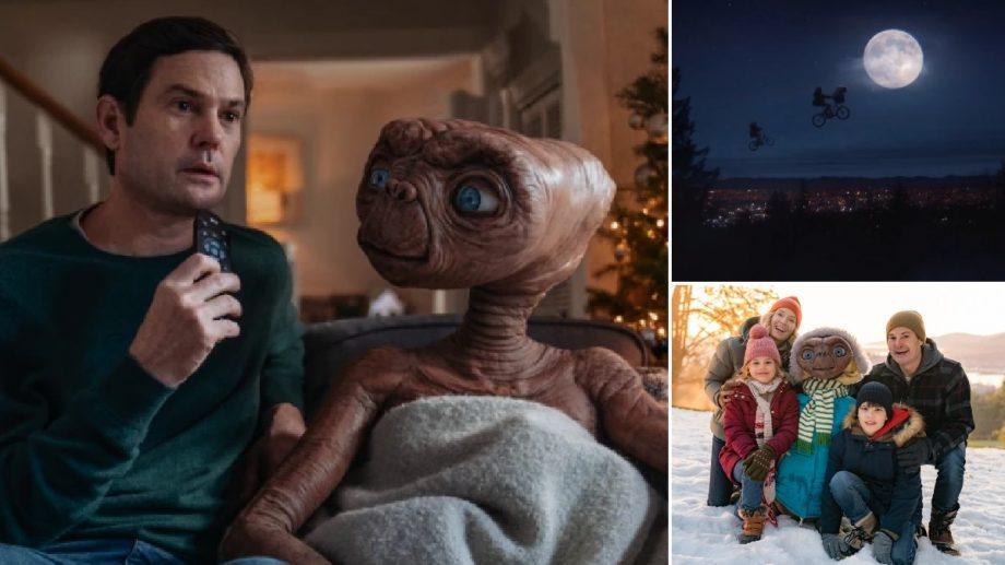 (видео) Он вернулся! Эллиотт и E.T. из «Инопланетянина» Спилберга встретились спустя 37 лет