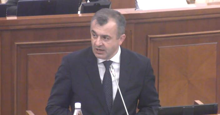 (видео) Новый кабинет министров. Парламент проголосовал за правительство, предложенное Ионом Кику