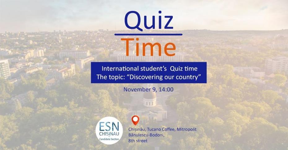 «Узнай Молдову». В субботу в столице пройдет quiz для студентов