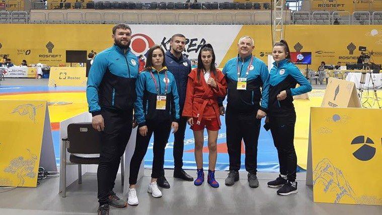Новая медаль для Молдовы. Ана-Мария Чобану завоевала бронзу на чемпионате мира по самбо