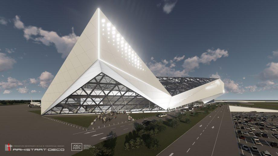 (фото, видео) В кишиневском аэропорту появится крупнейший пассажирский терминал в регионе. Как он будет выглядит