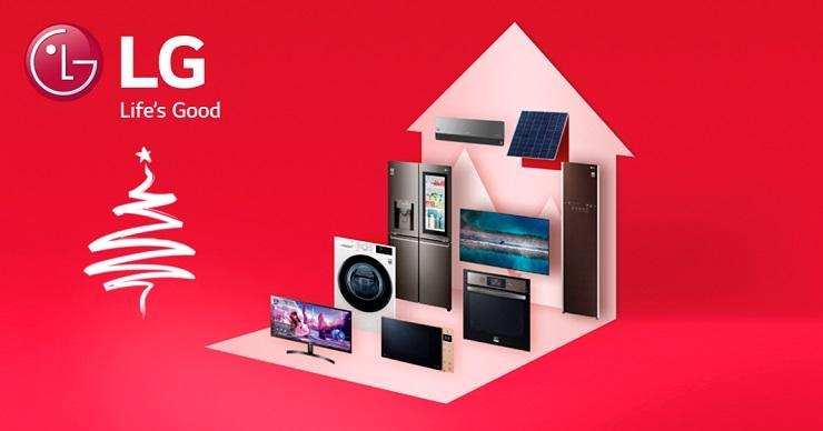 (фото) «Новогодние праздники — это особенные дни, наполненные любовью и надеждой». Компания LG Electronics поздравляет всех с наступающим Новым Годом!