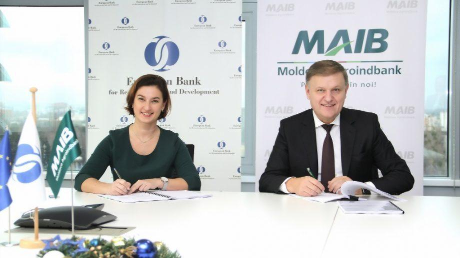 Новое соглашение о финансировании, подписанное ЕБРР и MAIB для повышения качества, конкурентоспособности и облегчения доступа МСП на рынок ЕС