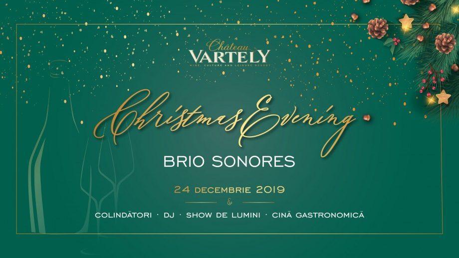 Brio Sonores, колядки, световое шоу и глинтвейн. Проведи рождественский вечер в Château Vartely