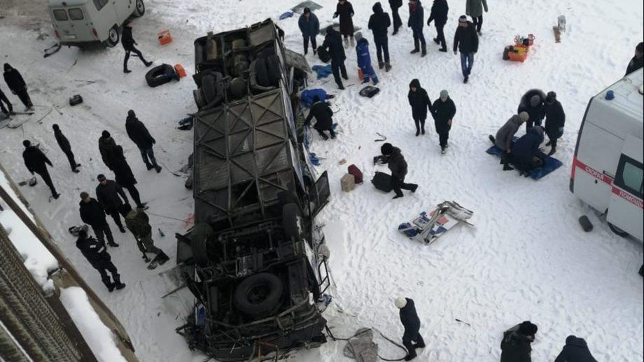 В результате падения автобуса с моста вЗабайкалье погибли 15 человек. Какова причина аварии