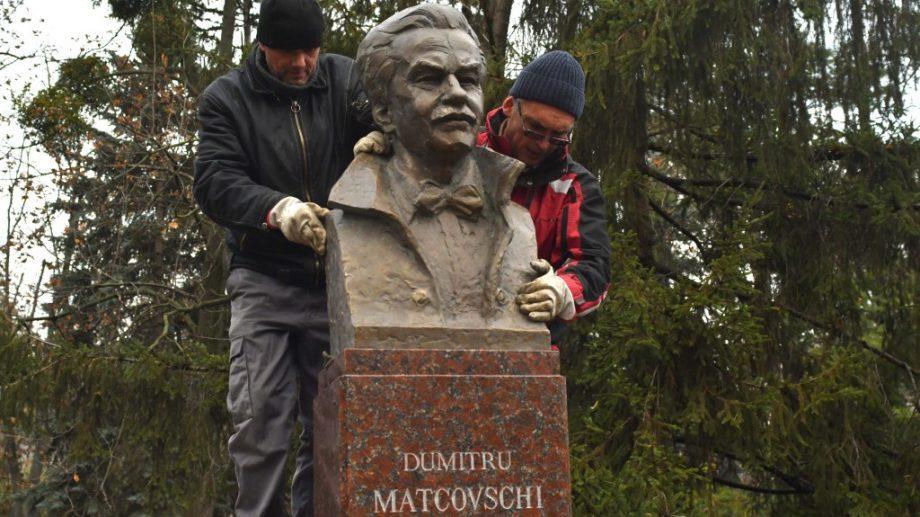 На Аллее классиков сегодня открыли памятник Думитру Матковски