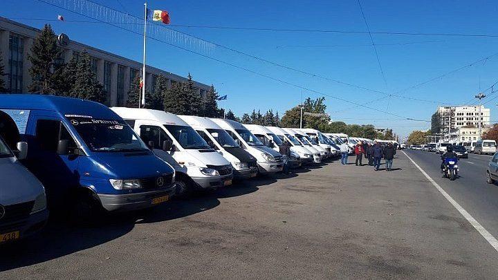 (фото) Транспортники объявили о новом протесте, который пройдет 11 декабря