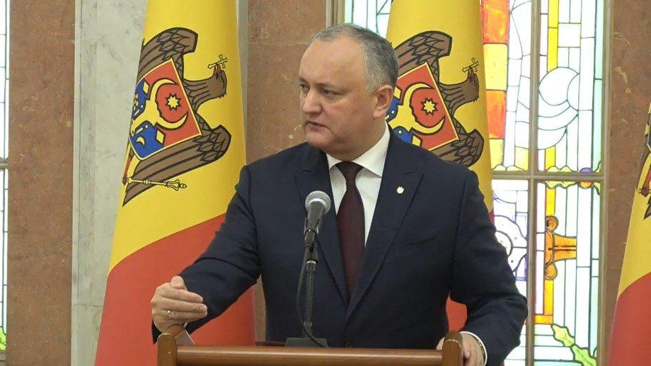 Додон после заседания Высшего совета безопасности: «Плахотнюк не был объявлен Интерполом в международный розыск»