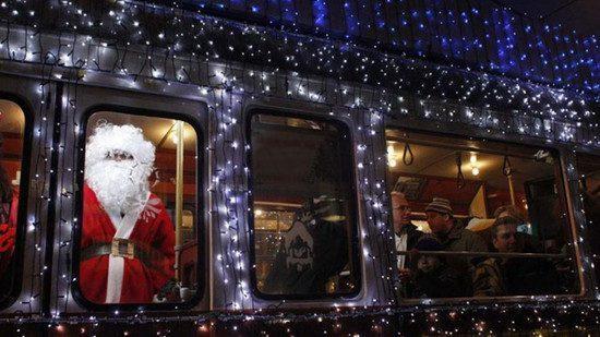 Украшенный троллейбус будет ходить в Бельцах в период новогодних праздников