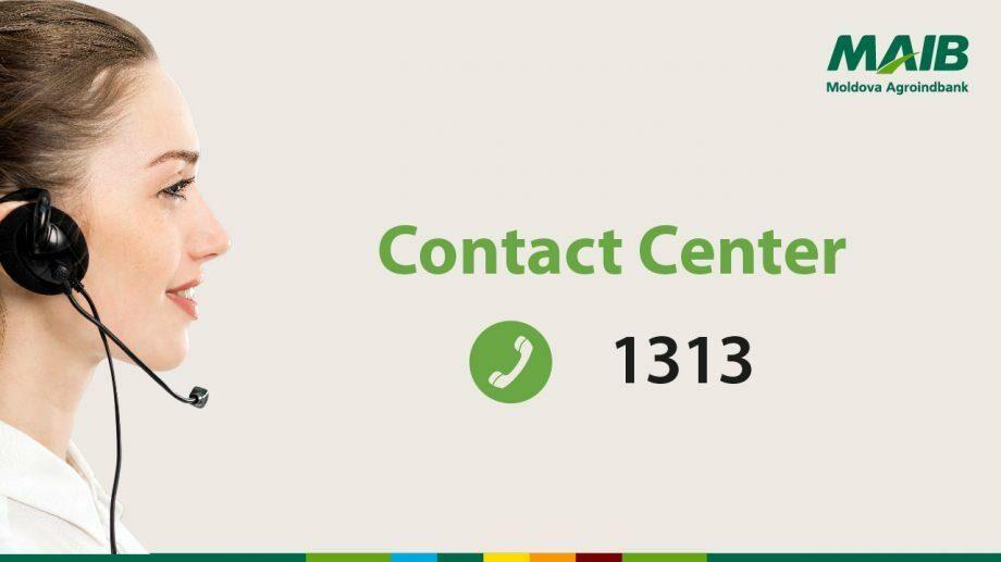 Moldova Agroindbank запускает новый, единый контактный номер для клиентов – 1313