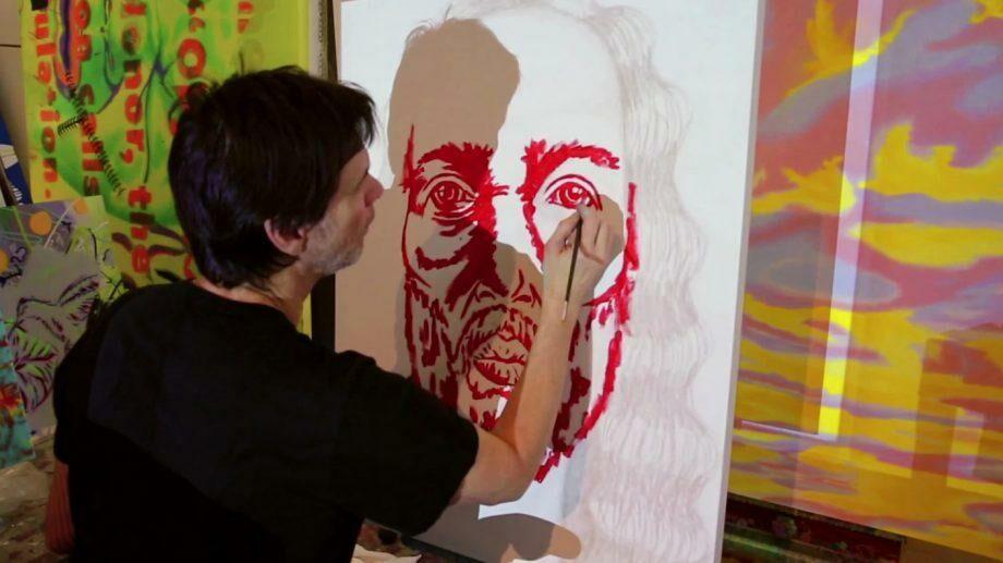 (фото/видео) «Цветом картины я могу показать, что я люблю». Работы художника Джима Керри