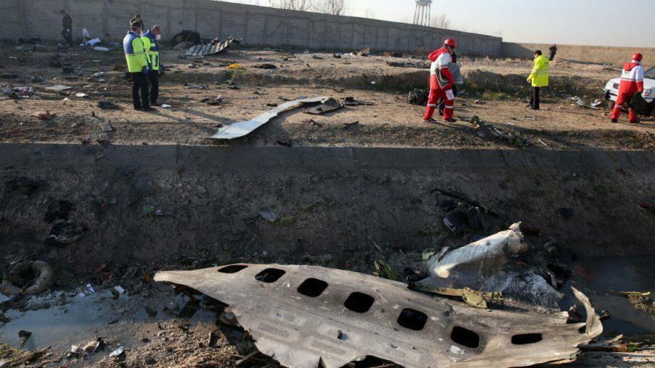 Иран передаст Украине черные ящики сбитого 8 января самолета