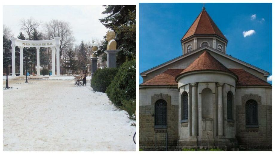 (фото) Армянская церковь, Городское озеро и Площадь Василе Алекснадри: список туристических мест северной столицы Молдовы